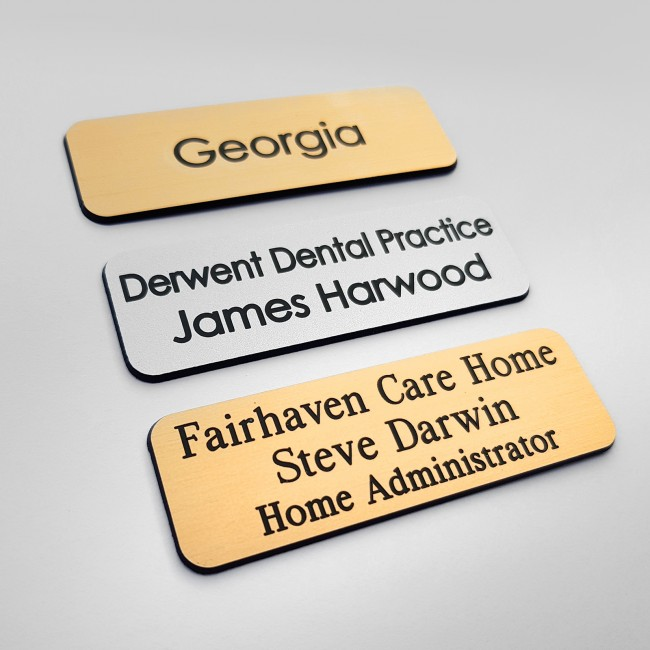 Accountant Engraved Name Badge